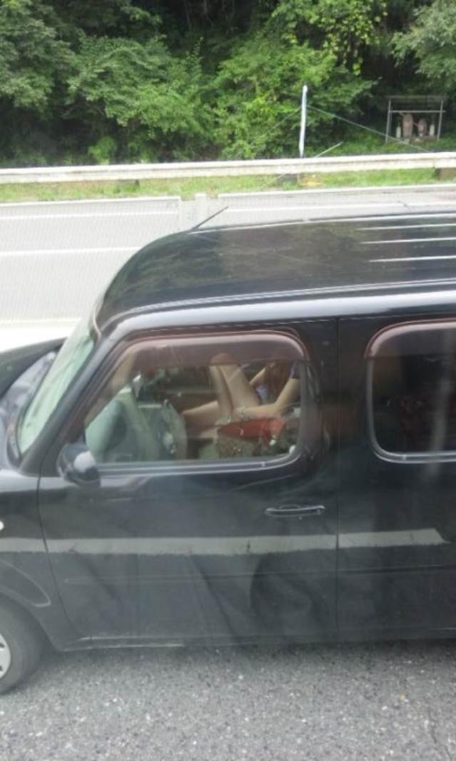 【エロ画像】トラックの運転手が事故る理由がこちら・・この眺め最高wwwwwww(画像16枚)・4枚目