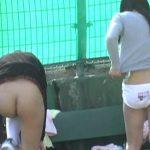 部活女子がガチで盗撮された ブツ がこれ。。パンツが若さを物語るwwwwww(エロ画像)