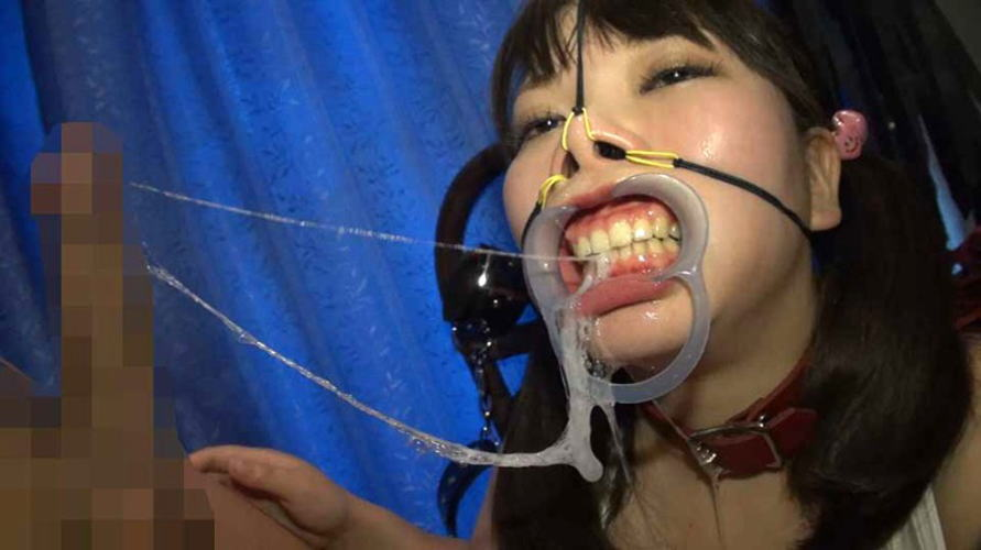 【鬼畜】開口器で広げらたままザーメンや尿を流し込まれてる上級者向けのSM画像集・24枚目