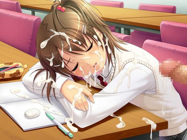 おっぱい丸出しで寝てる女の子にブッかけるの楽しすぎワロタwwwwwwwww(画像あり)・35枚目