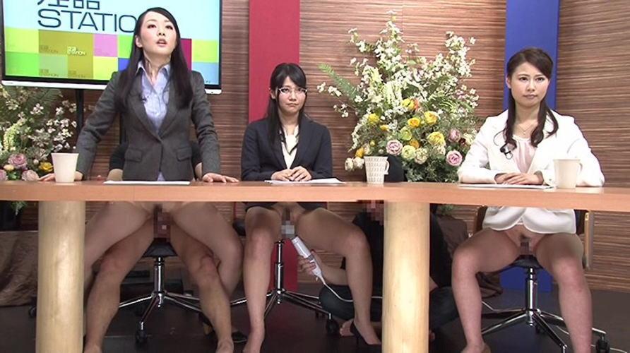 【画像あり】本番中にあった女子アナへのイタズラ行為がコチラwwwwwwwww・12枚目