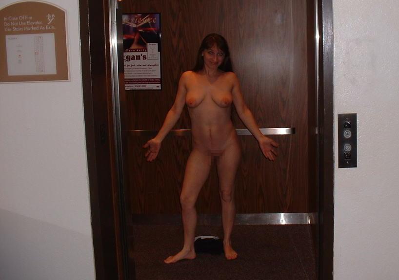 【露出狂】エレベーター開いたらこの状態だった時wwwwwww(画像32枚)・15枚目