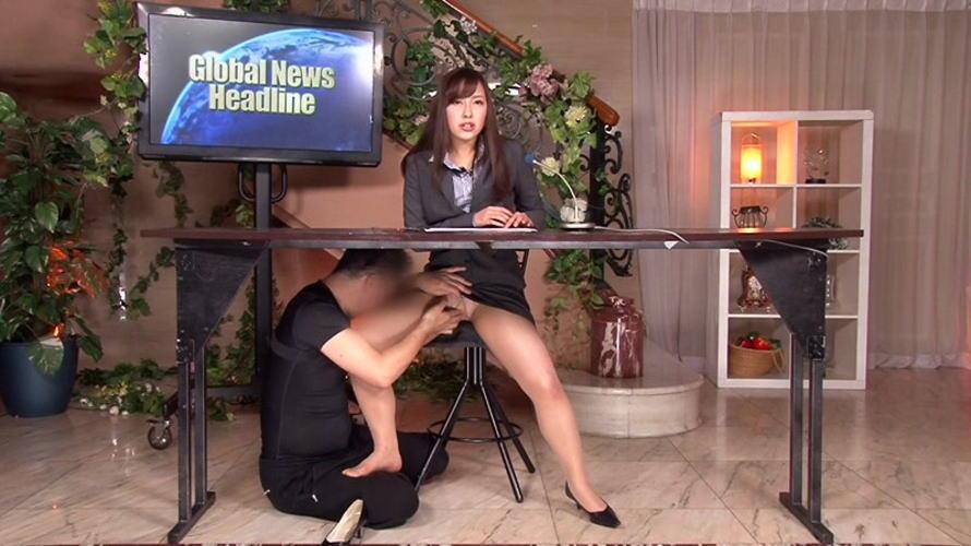 【画像あり】本番中にあった女子アナへのイタズラ行為がコチラwwwwwwwww・21枚目