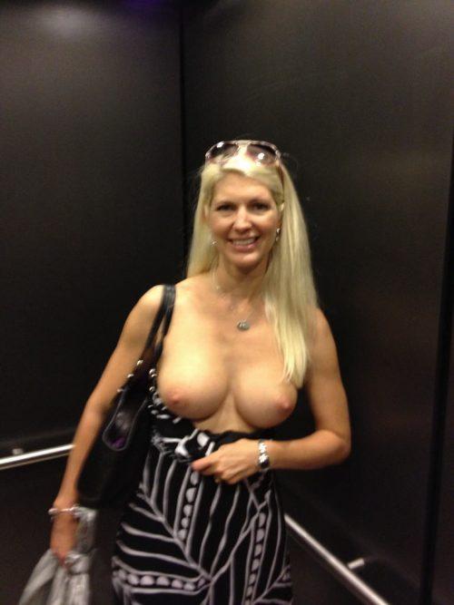 【露出狂】エレベーター開いたらこの状態だった時wwwwwww(画像32枚)・5枚目