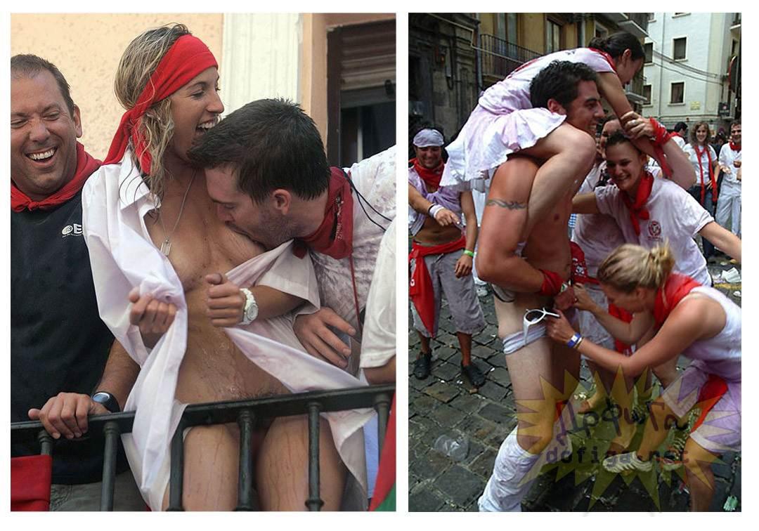 おっぱい揉み・舐め放題のスペインの神祭りwwwwwwww(画像38枚)・1枚目