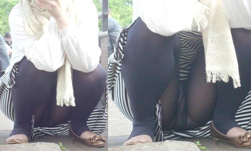 【街撮】スパッツの危なさに気付いてない女性たち・・・(画像55枚)・31枚目