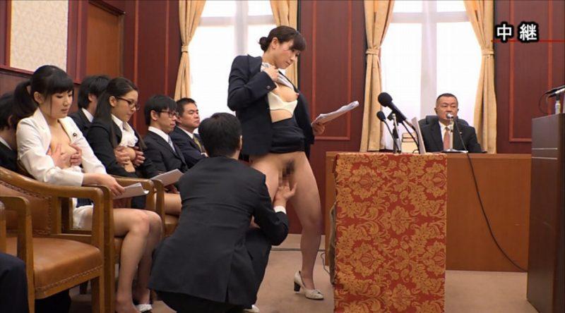 【悲報】国会で餌食となっている女性議員たち。。(画像あり)・12枚目