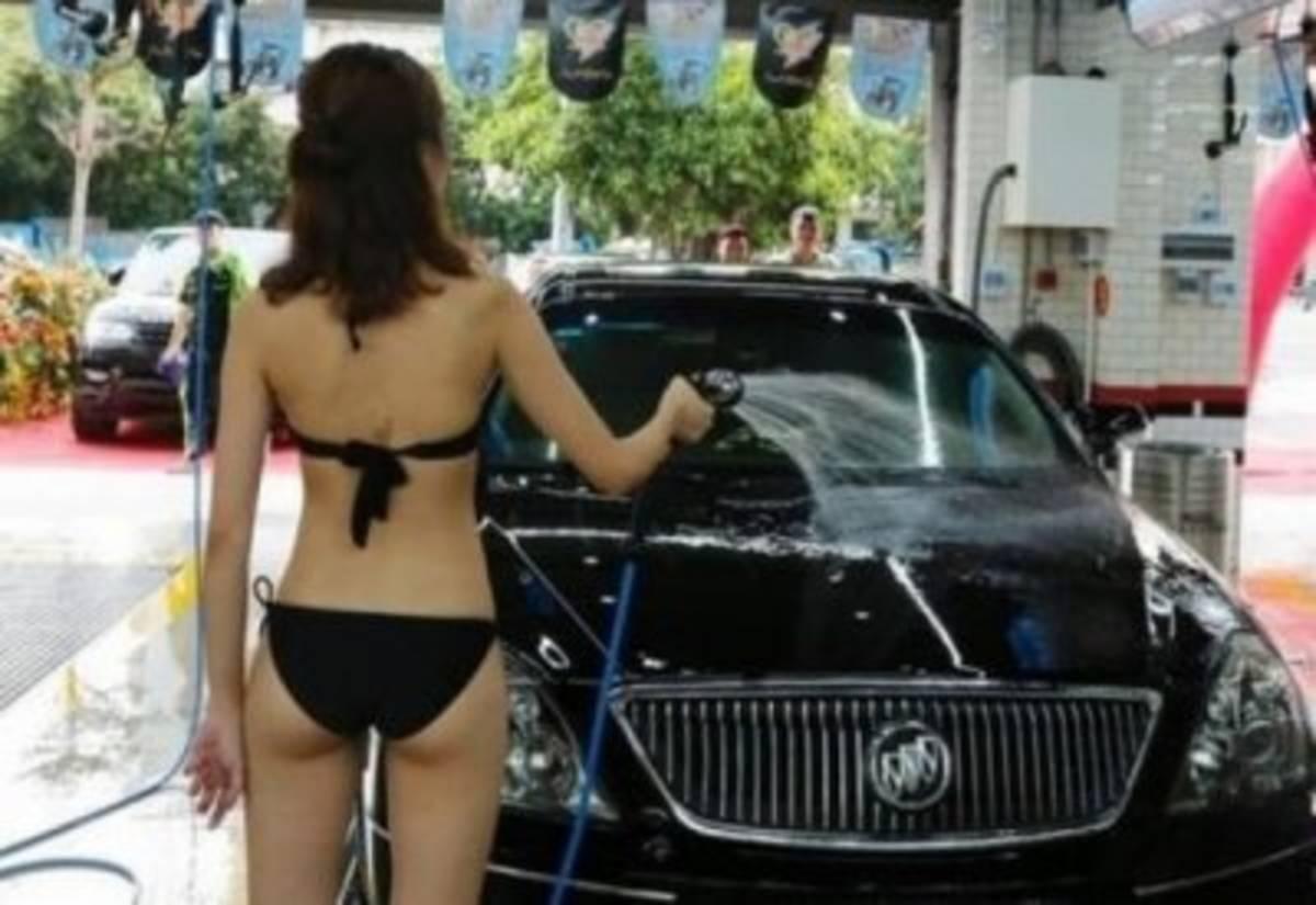 女体洗車とかいう変わったセクシーサービスが神杉wwwwwwww(画像あり)・15枚目