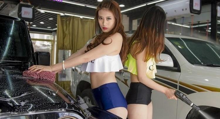 女体洗車とかいう変わったセクシーサービスが神杉wwwwwwww(画像あり)・27枚目