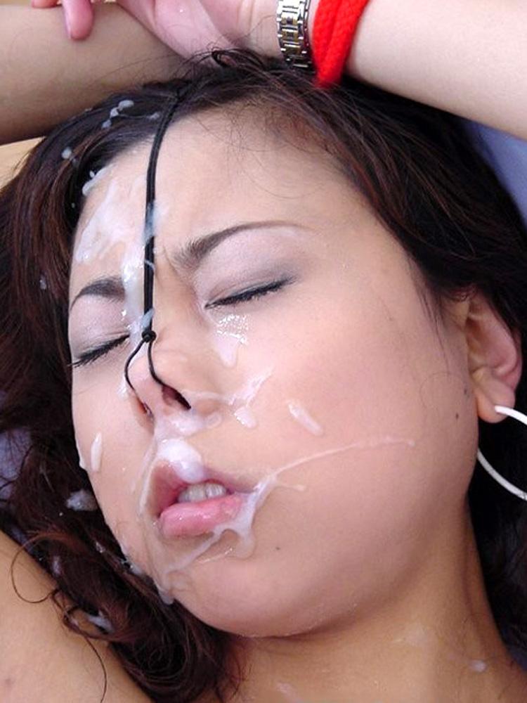 鼻フックされたまま顔射されてアヘる淫乱さよ・・・・・(画像26枚)・18枚目