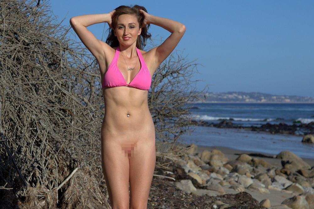 ヌーディストビーチでこの格好のヤツ、全裸より立ち悪い件。(画像あり)・36枚目