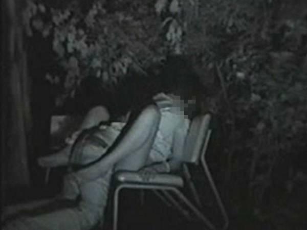 赤外線カメラを公園に設置した結果wwwwwww(画像24枚)・11枚目