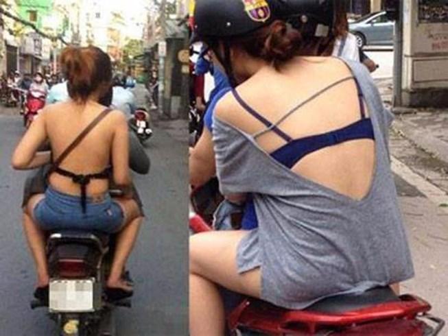際どいファッションで街中を歩く半露出狂の韓国女性たち(画像25枚)・7枚目